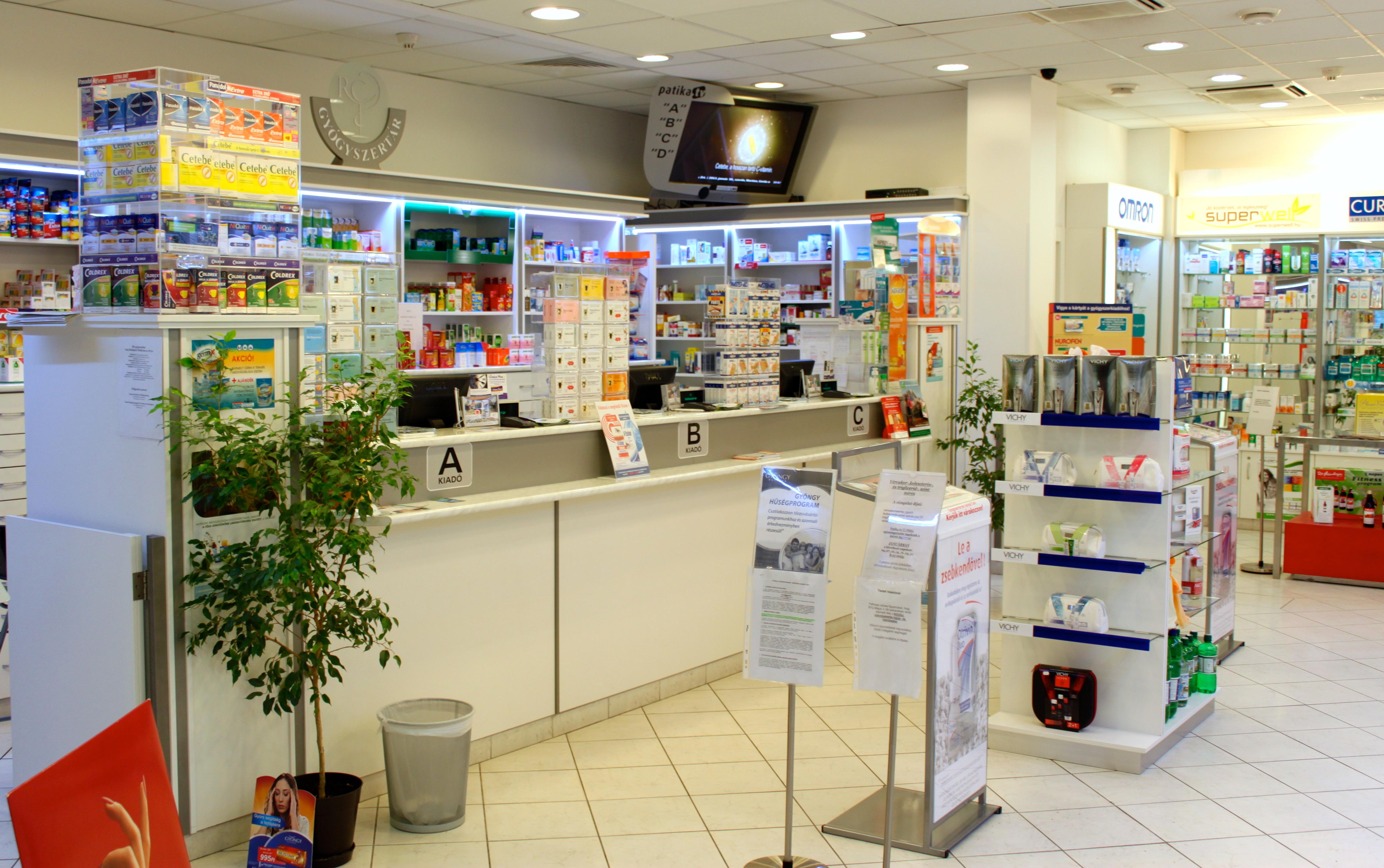 közös készítmények gyógyszertár